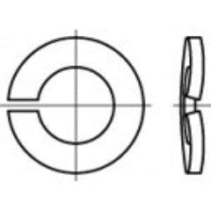 Rugós alátét, belső Ø: 10.2 mm DIN 128 100 db TOOLCRAFT 105793 TOOLCRAFT