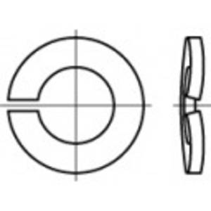 Rugós alátét, belső Ø: 3.1 mm DIN 128 100 db TOOLCRAFT 105786 TOOLCRAFT