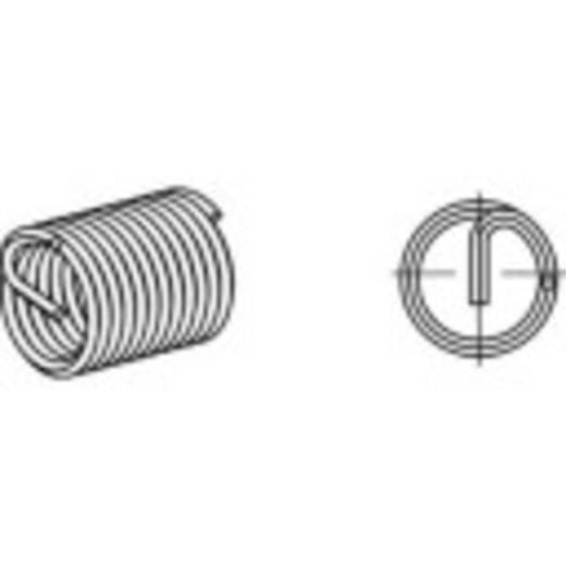 AMECOIL menetbetétek Rozsdamentes acél A2 10 mm 15 mm 100 db