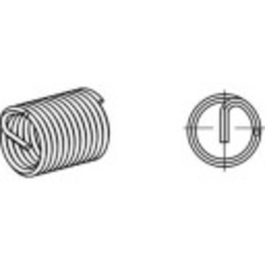 AMECOIL menetbetétek Rozsdamentes acél A2 8 mm 20 mm 100 db