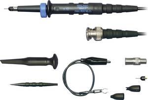 Oszcilloszkóp mérőfej, mérőzsinór készlet 150 MHz-ig 10:1 osztású CAT I 600V-ig szigetelt Testec LF 212 Testec