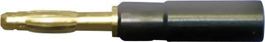 Banándugós mérőfej adapter, 4mm-es lamellált banándugóra átalakító Testec 21010