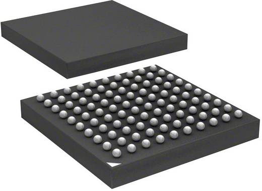 Mikrokontroller, ATSAM4N8CA-CFU LFBGA-100 Atmel