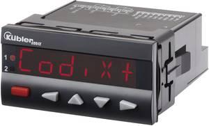 Programozható, beállítható számláló modul beépítési méret 92 x 45 mm, 10 - 30 V/DC RS232 Kübler Codix 560 DC Kübler