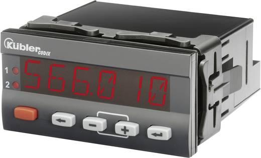 Folyamatszabályzó, folyamatvezérlő modul 90-260V/AC Kübler 566 AC
