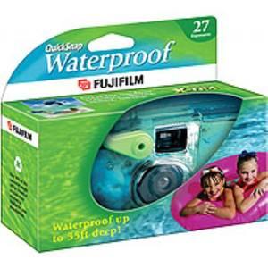 Egyszer használatos víz alatti fényképezőgép, eldobható fényképezőgép Fujifilm Quicksnap 800 Marine 7125229 Fujifilm