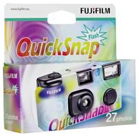 Egyszer használatos, eldobható fényképezőgép Fujifilm Quicksnap Flash 7130784 (7130784) Fujifilm