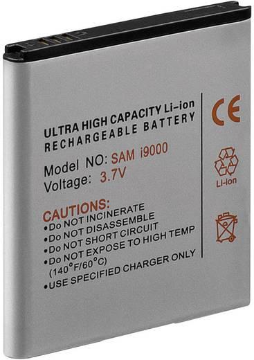 Lithium ion mobiltelefon akkumulátor Samsung Galaxy S i9000 telefonokhoz 1300 mAh Goobay 42961