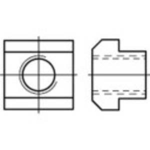 T anya M12 16 mm  DIN 508   Acél  10 db, Toolcraft TOOLCRAFT