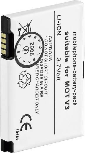 Lithium ion mobiltelefon akkumulátor Motorola telefonokhoz 650 mAh Goobay 63404