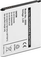 Lithium ion mobiltelefon akkumulátor Samsung Galaxy S4, Samsung Galaxy S4 Active telefonokhoz 2600 mAh Goobay 43326 Goobay