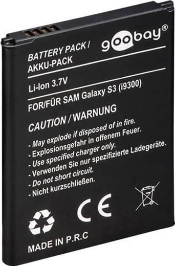 Lítiumion Mobiltelefon akku 2100 mAhSamsung GALAXY S3 (I9300) (Megnevezés, eredeti akku: EB-L1G6LLU, EB-L1H2LLU)