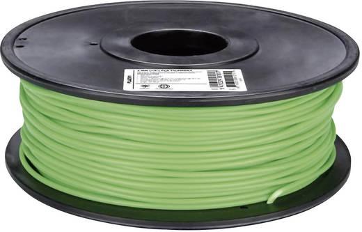 3D nyomtató szál Velleman PLA3V1 3 mm Világoszöld 1 kg