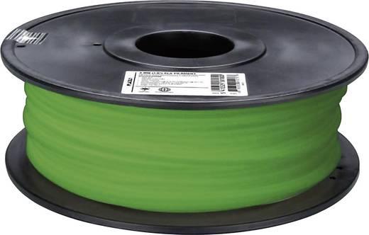 3D nyomtató szál Velleman PLA3L1 3 mm Natúr,Zöld (fluoreszkáló) 1 kg