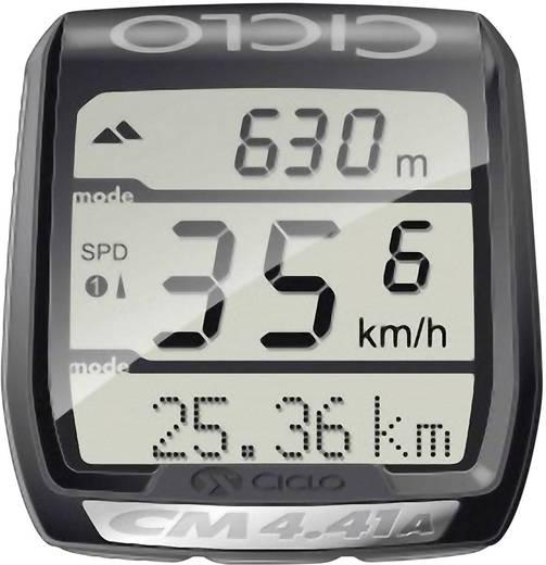 Vezeték nélküli kerékpár computer pulzusmérővel, kódolt átvitel, CicloSport CM 4.41A HR