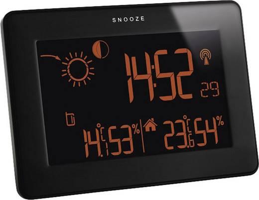 Érintőképernyős időjárásjelző állomás, fekete, TFA Slim 35.1128.01
