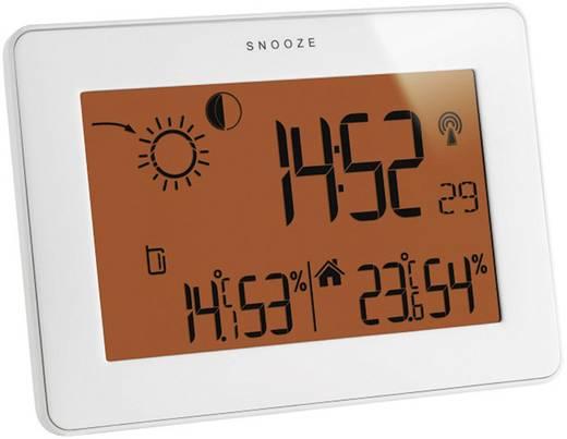 Érintőképernyős időjárásjelző állomás, fehér, TFA Slim 35.1128.02
