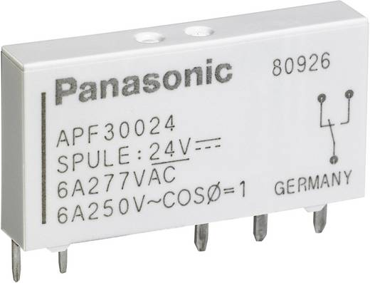 Teljesítményrelé, APF Panasonic APF30312 12 V/DC 1 váltó 6 A 250 V/ AC