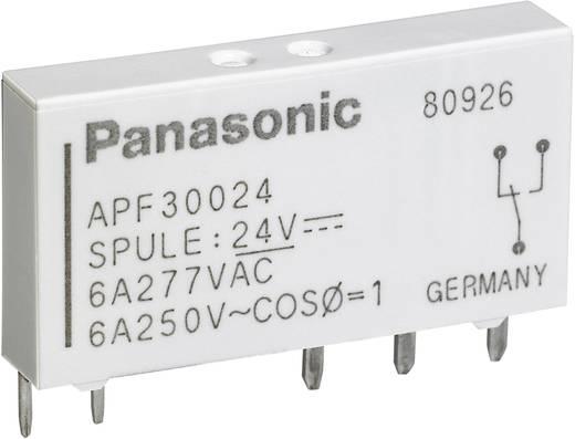 Teljesítményrelé, APF Panasonic APF30324 24 V/DC 1 váltó 6 A 250 V/ AC