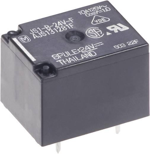 Teljesítményrelé, JS Panasonic JS1-B-24V-F 24 V/DC 1 váltó 10 A 250 V/AC, 100 V/DC