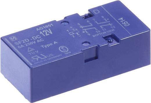 Biztonsági relé, SF2D Panasonic SF2D12D 12 V/DC 2 záró, 2 nyitó 8 A 400 V/AC, 400 V/DC