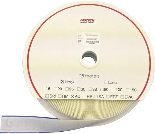 Tépőzár Felragasztáshoz Horgos fél (H x Sz) 25000 mm x 25 mm Fehér Fastech T0102500000225 25 m