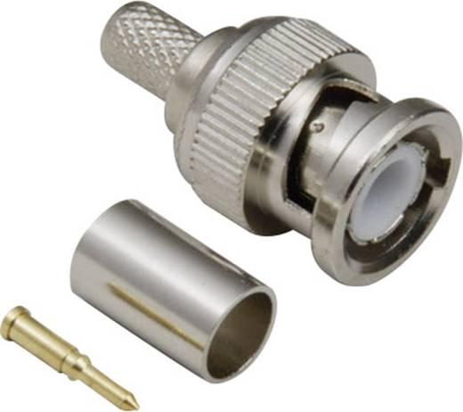 BNC csatlakozó Dugó, egyenes 50 Ω BKL Electronic 0401255/D 1 db
