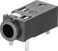2,5 mm-es beépíthető jack aljzat, 4 pól., Tru Components (1578958) TRU COMPONENTS