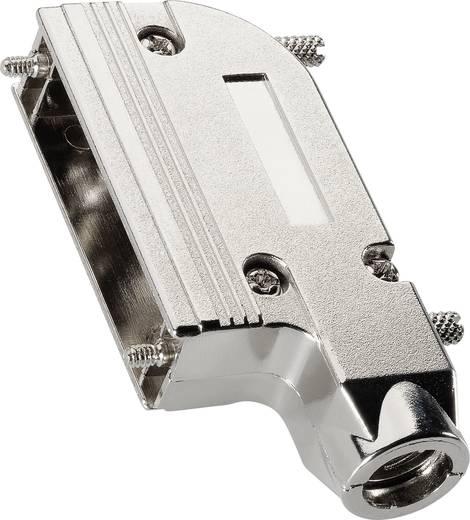 D-SUB doboz pólusszám: 15 fém Ezüst BKL Electronic 10120273 1 db