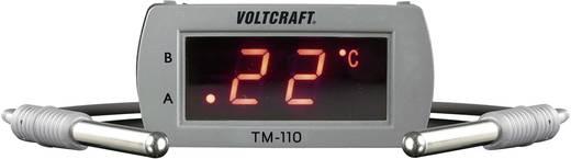 Beépíthető LED-es hőmérő modul, panelműszer, hőfokkapcsoló modul, két érzékelővel -20-tól +65 °C-ig Voltcraft TM-110 LED