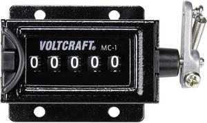 Mechanikus számláló modul, karos összegző számláló 58 x 47 mm, Voltcraft MC-1 VOLTCRAFT