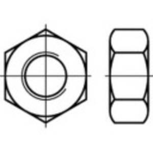 Hatlap anyák 5/8 coll DIN 555 Acél 100 db TOOLCRAFT 108599 TOOLCRAFT