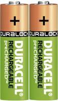 Ceruza akku AA, NiMH, 1,2V 2400 mAh, 2 db, Duracell LR06, AA, LR6, AAB4E, AM3, 815, E91, LR6N (DUR056978) Duracell