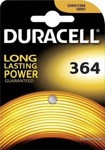 364 gombelem, ezüstoxid, 1,55V, 19 mAh, Duracell SR621SW, SR60, SR621, V364, D364, 602, T, 280-34, SB-AG, SB-DG