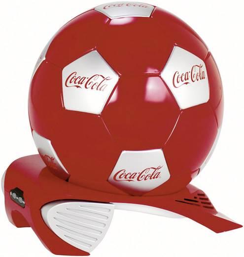 Szivargyújtós, elektromos party hűtő, focilabda formájú 12V/230V 4L-es Ezetil Coca-Cola 5260