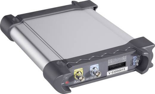 VOLTCRAFT MSO-2072USB USB-s oszcilloszkóp, 2 + 16 csatornás oszcilloszkóp előtét, 70 MHz 16 K logikai analizátor