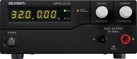 Programozható labortápegység 1 - 32 V/DC 0 - 15 A 480 W, VOLTCRAFT DPPS-32-15