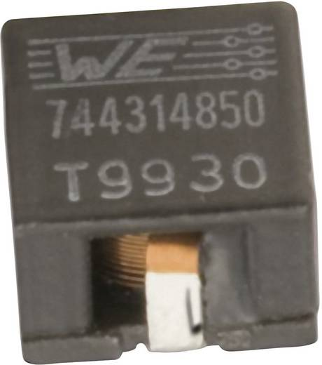 Induktivitás, SMD 7050 4.9 µH Würth Elektronik 744314490 1 db