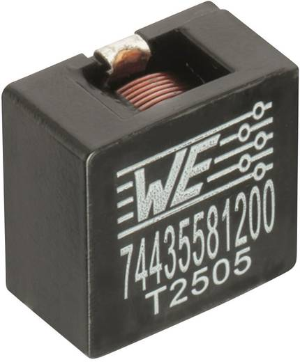 Induktivitás, SMD 2212 68 µH Würth Elektronik 74435586800 1 db