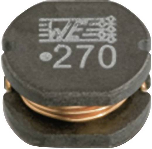 SMD fojtótekercs 7850 10 µH 0,07 Ω Würth Elektronik 74477510