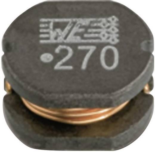 Tároló fojtótekercs, SMD 7850 12 µH 0.08 Ω Würth Elektronik 744775112 1 db