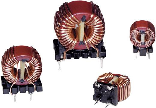 RF fojtótekercs, radiális, 25 mm 1 mH 9 mΩ Würth Elektronik 7448251201