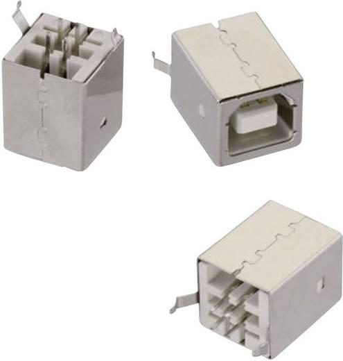 USB B típus, álló, WR-COM Alj, beépíthető, függőleges álló Würth Elektronik Tartalom: 1 db