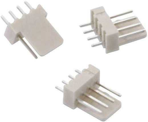 WR-WTB 2,54 mm-es stiftsor, hajlított, reteszeléssel, Pólusszám: 4 Würth Elektronik 61900411121