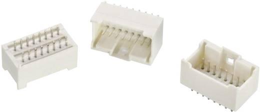 WR-WTB 2 mm-es stiftsor, egyenes, kétsoros, aktív reteszeléssel, WR-WTB Pólusszám: 18 Würth Elektronik Tartalom: 1 db
