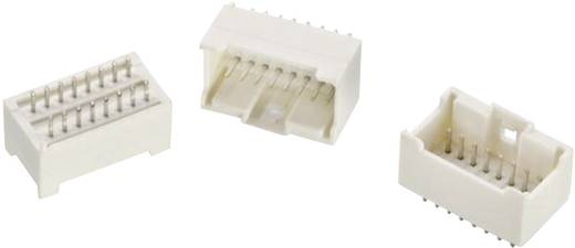 WR-WTB 2 mm-es stiftsor, egyenes, kétsoros, aktív reteszeléssel, WR-WTB Pólusszám: 8 Würth Elektronik Tartalom: 1 db