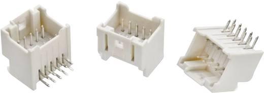 WR-WTB 2 mm-es stiftsor, hajlított, kétsoros, aktív reteszeléssel, WR-WTB Pólusszám: 10 Würth Elektronik Tartalom: 1 db