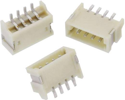 1,25 mm-es SMD stiftsor, hajlított, reteszeléssel, WR-WTB Pólusszám: 5 Würth Elektronik 648105131822