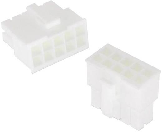 WR-MPC4 hüvelyház, kétsoros, aljzat kontaktusokhoz Pólusszám: 12 Würth Elektronik Tartalom: 1 db