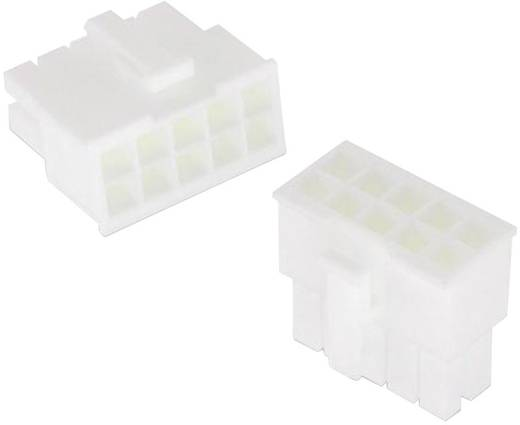 WR-MPC4 hüvelyház, kétsoros, aljzat kontaktusokhoz Pólusszám: 18 Würth Elektronik Tartalom: 1 db